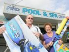 David Morris and Maria Morris from the Ipswich Pool and Spa Centre.