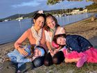 Rachael MacCracken with twins Willow and Sage and their younger sister Starlia.