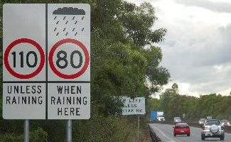 The speed limit on the Pacific Hwy north of Macksville has been increased from 70kph to 80kph.