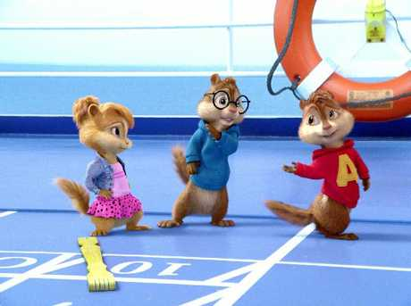 The chipmunks run amok to cause a chuckle-load of chaos in &#39;Chipwrecked&#39;. Photo / Supplied