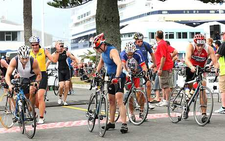 Port of Tauranga Half Iron Man.