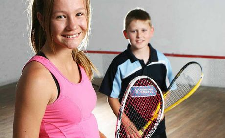 Kaitlyn Morris and Andrew Cook had recent success at the Rod Eyles Junior Squash Tournament in Palm Beach.