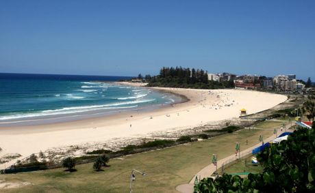 Coolangatta Beach.