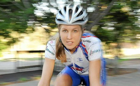 Cyclist Shara Gillow is one of six selections nation-wide who have received an AIS scholarship.