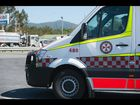 EMERGENCY services have freed a woman trapped in an accident on the Pacific Hwy, north of Coffs Harbour.
