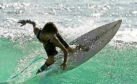 EXPERT ADVICE: Surf instructor for HPC at Casuarina, Clancy Dawson.