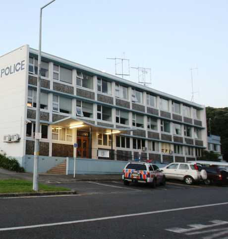 The old Tauranga police station