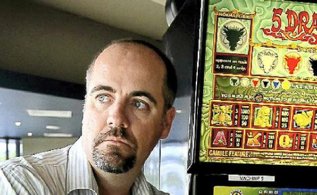 Guy Diven at the Murwillumbah Services Club supports a trial of the pokie reform.