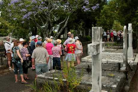 Napier Hill Cemetery tours are more popular than ever. Hawke's Bay Today photographer