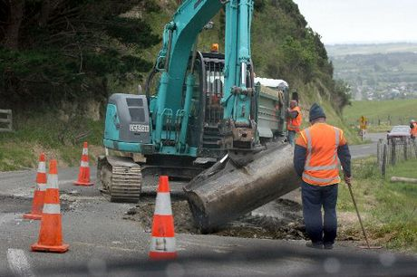 UNDER PRESSURE: Maintenance work is being done on Saddle Rd, which has come under increased pressure since the Manawatu Gorge closure.