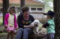 Lucinda Murch owns Farm Friends, a 'forest kindergarten'-style of early childhood centre. Her vision is, to re-connect children with nature.