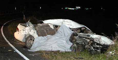 Police say three of the four people in this car who died in a head on smash near Wairoa were not wearing seatbelts.