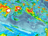 <strong>UPDATE:</strong> The Bureau of Meteorology has cancelled two severe thunderstorm warnings for flash flooding.