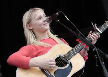 Laura Marling performs at Laneway 2012.