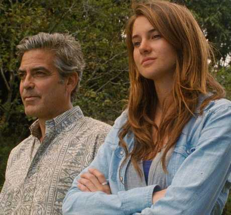 George Clooney leads a varied cast in this tale about a family struggling to stay together after a tragic accident. Photo / Supplied