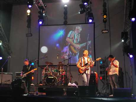 The Aaron Saxon band will be performing at Summerfest 2012 at Blake Park.