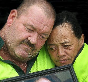 WANTING JUSTICE: Rotorua parents Kevin and Leslie Fenton are still grieving for their teenage daughter Hayley-Anne who took her own life.