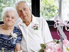 Les and Rita Horsnell of Silkstone celebrate their 60th wedding anniversary.