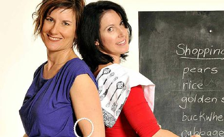 Michelle Kazukaitis and Pauline O'Sullivan have taken the allergy fear out of cooking.
