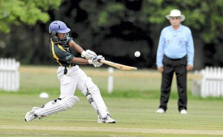 how to play lofted drive in cricket