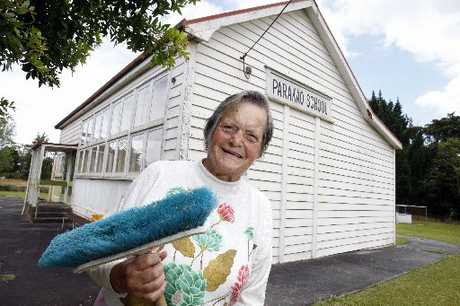 SCHOOL'S OUT: Margaret Hunter, who is among the organisers of a centennial celebration for Parakao School, now closed but not forgotten by the multitude once schooled in its two classrooms. PHOTO/JOHN STONE