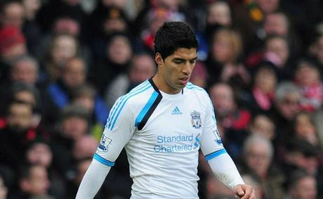 Liverpool&#39;s Luis Suarez.