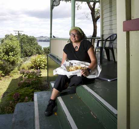 Te Awhina Arahanga will take up residency at the Michael King Writers' Centre in May. She is currently writing a social history of fish and chips.