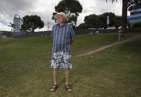 Takapuna resident Jim Young has concerns about an application to build a hardstand for yachts and the proposed placement of the pricey National Ocean Water Sports Centre.