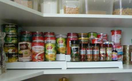 Karina's pantry after her Type A personality took over.