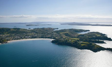 Waiheke is only a 35 minute ferry ride from Auckland CBD.