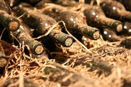 Britain's  bomb squad uncovered a cache of full French wine bottles, with dates ranging from 1931 to 1937 - then blew them up. Photo / Thinkstock