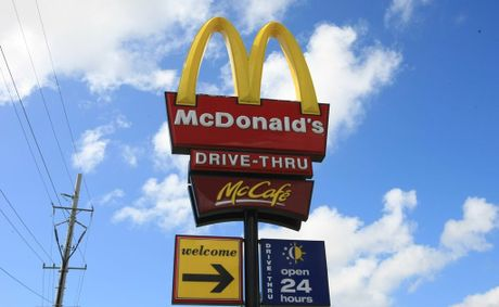 The iconic golden arches of McDonald's at the proposed South Murwillumbah outlet will have to be connected to a dimmer switch according to the conditions stipulated by Tweed Shire Council.