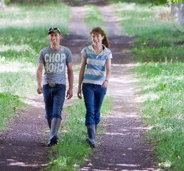 Reporoa dairy farming couple Brady Mitchell and Amber Broderson have put their dairy farming skills up for judging in the regional Central Plateau Dairy Industry Awards farm manager section. Photo / Stephen Parker