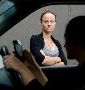 WARNING: Clare Smith wants to stop people from texting and driving after her sister died in a crash to which phone use is thought to have contributed.PHOTO/STEPHEN PARKER 130212SP1