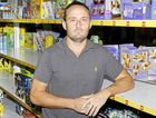 Toy Kingdom owner Carey Horner had $15,000 of Lego stolen from his Woodlark St store.