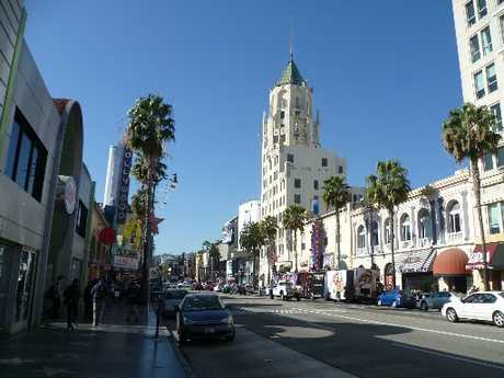 Stars live and play in Beverly Hills; visit the ornate movie palace of Grauman's Chinese Theatre; the  Kodak Theatre is home to the Oscars. Photo / Supplied