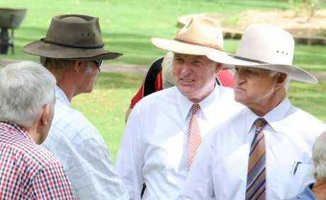 Bob Katter anounces Shane Paulger as the Katter&#39;s Australian Party candidate for Gympie.