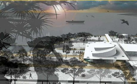 The Gladstone East Shores redevelopment, along Flinders Pde, will add a stylish waterside location to the city.