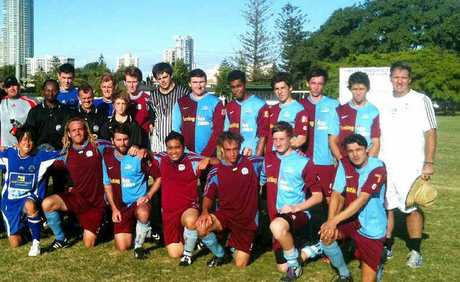 Coolum Football Club's reserves flogged the Surfers Paradise team 10-0 in the pre-season clash at Surfers Paradise.