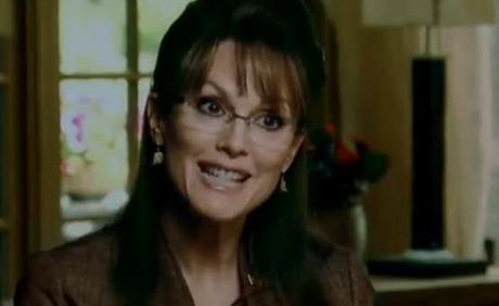 Julianne Moore as Sarah Palin in TV movie Game Change.