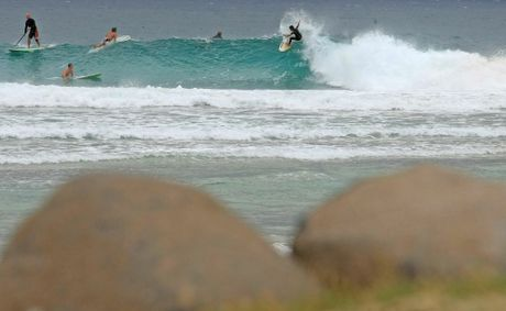 The famous breaks on the southern Gold Coast draw surfers from around the world.