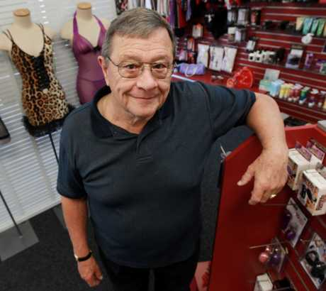 John McCoy owner of the Aristocrat Adult Boutique in Greerton.