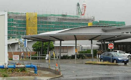 Flooding has hit a Sunshine Coast company involved in the revamp of Mackay Base Hospital.