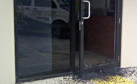 Thieves made a mess while breaking into three Wilsonton businesses.