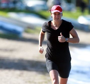 FOCUSED: Former New Zealand surf lifesaving rep Jackie Read is preparing for next Saturday&#39;s Ironman at Taupo.
