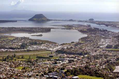Tauranga City recorded a fall in mortgagee sales.