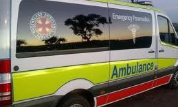 A girl has been treated after being hit by a car this afternoon.