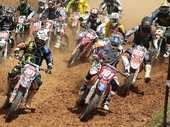Bay of Plenty riders won two of the three classes and claimed more than half of the podium honours at the second round of the New Zealand Motocross nationals raced at Patetonga.