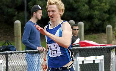 Eungella's Craig Burns will compete in the athletic selection trials for the London Olympics, although he cannot make the final team.
