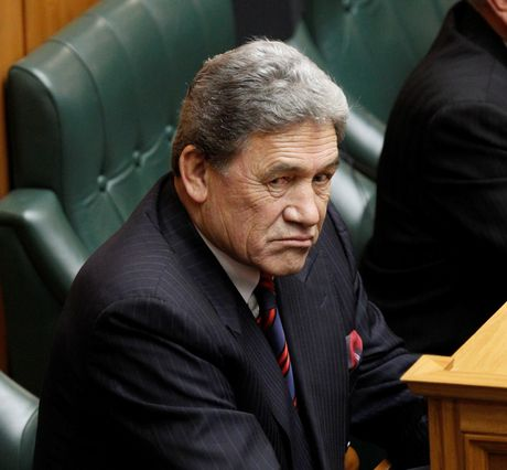 "Winston Peters called Gerry Brownlee an ""illiterate woodwork teacher""."